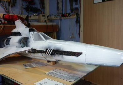 Battlestar Galactica MK II Colonial Viper – 1:1 Build